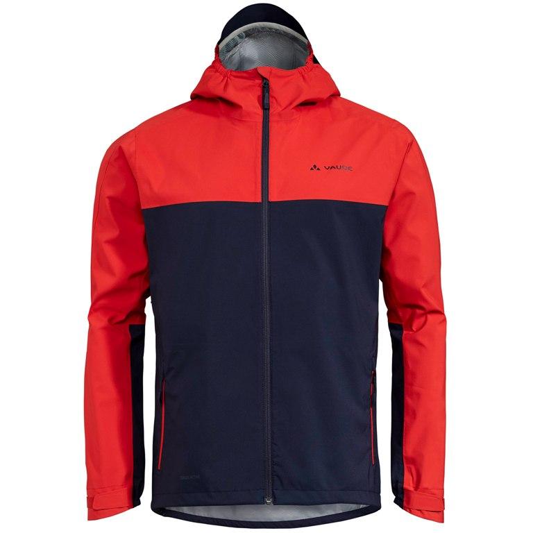 Vaude Men's Moab Rain Jacket - mars red