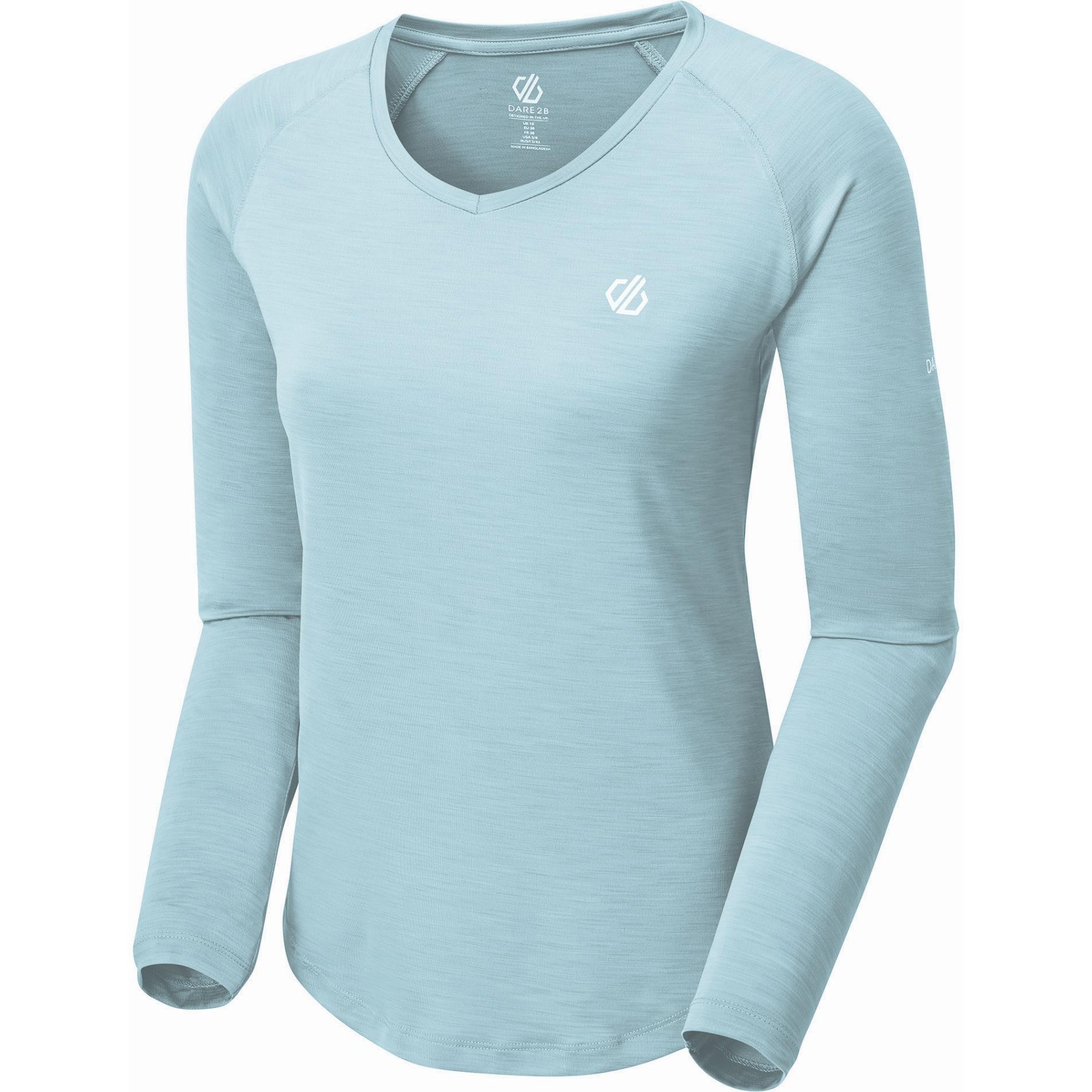 Produktbild von Dare 2b Discern Langarm-Shirt Damen - WKC Cameo Green