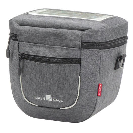 KLICKfix Aventour Compact City Handlebar Bag 0272ACC - grey