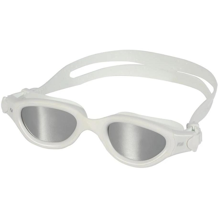Bild von Zone3 Venator-X Schwimmbrille - Polarized - white/white - polarized revo silver lens