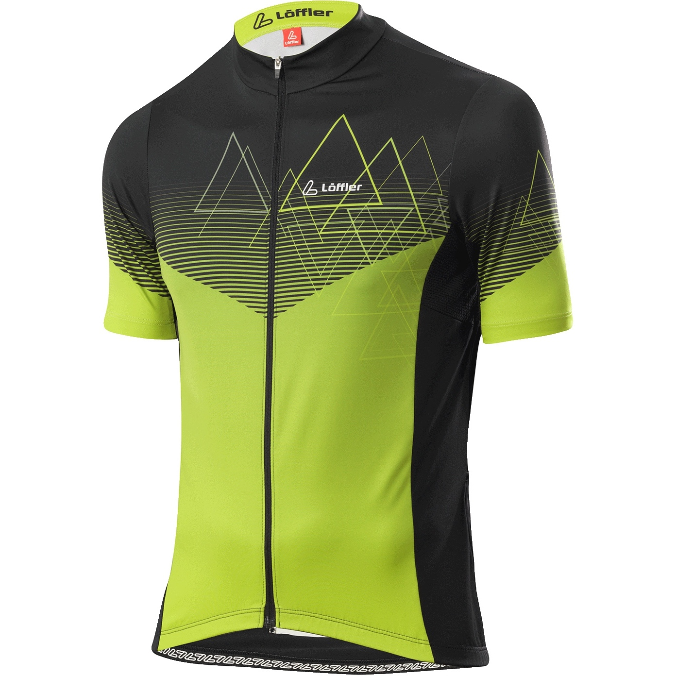 Löffler Bike Trikot FZ Peaks 24603 - light green 330