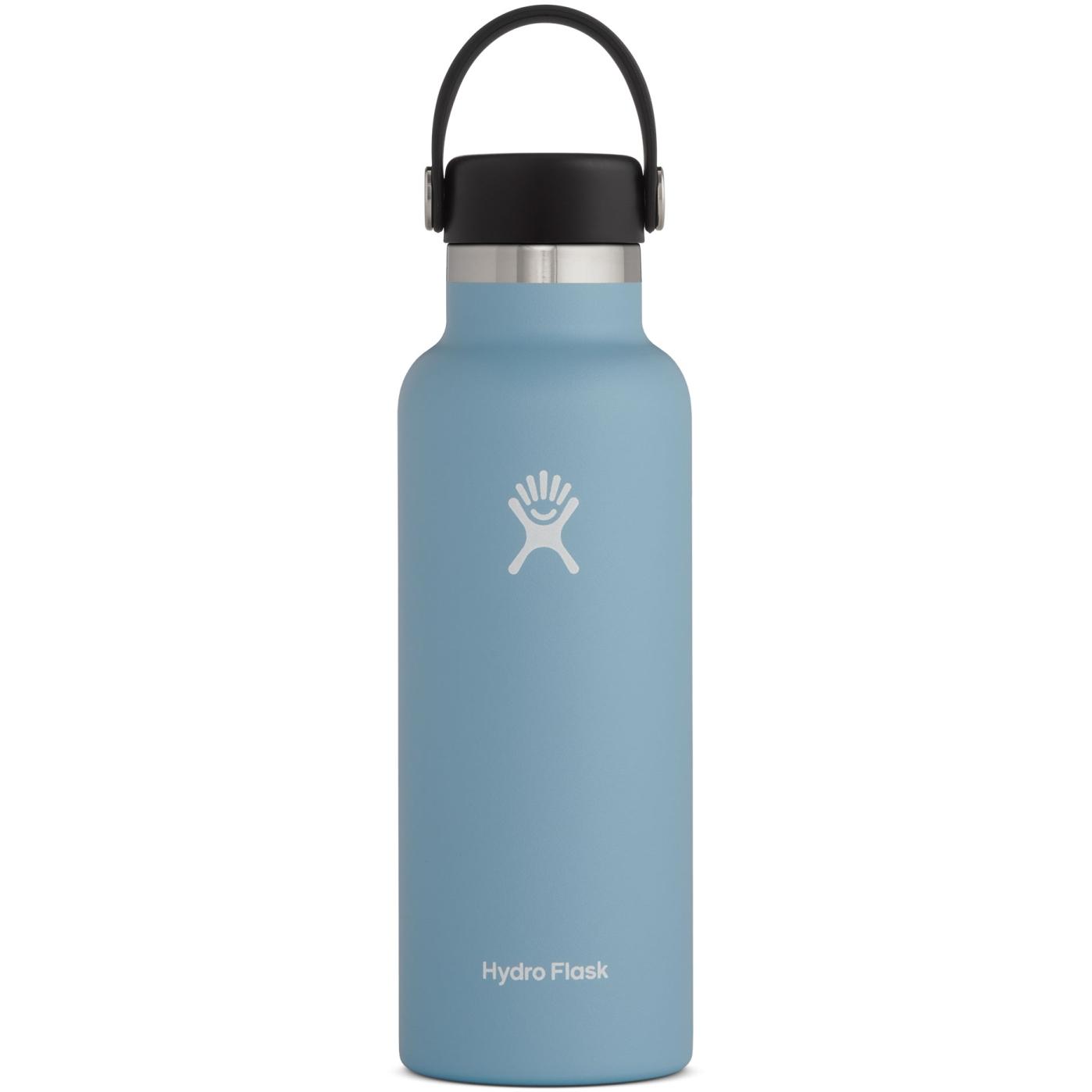 Hydro Flask 18oz Standard Mouth Flex Cap Thermoflasche - 532ml - Rain