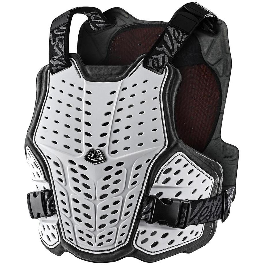 Produktbild von Troy Lee Designs Rockfight Ce Flex Brust Protektor - White
