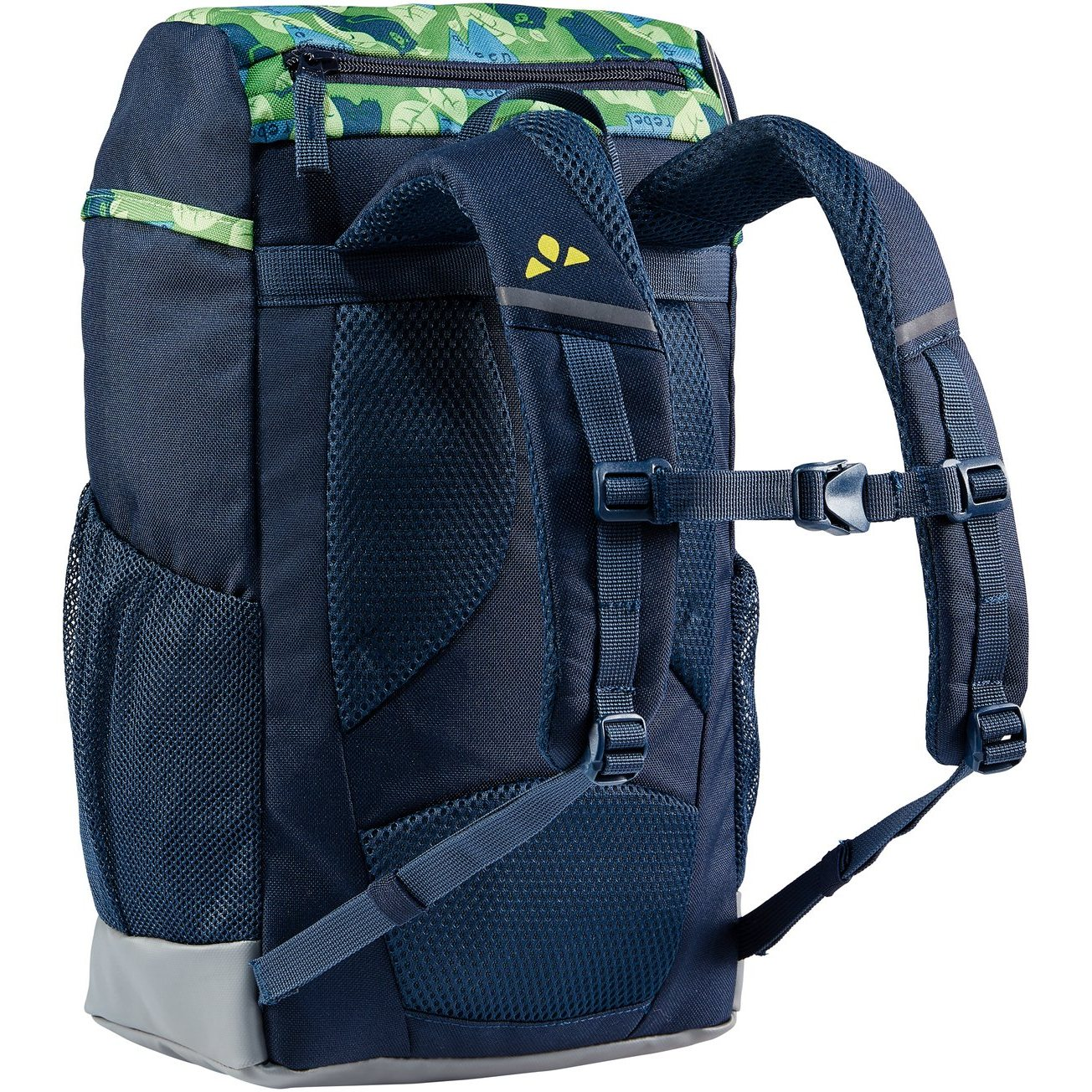 Image of Vaude Puck 10 Kids Backpack - parrot green/eclipse