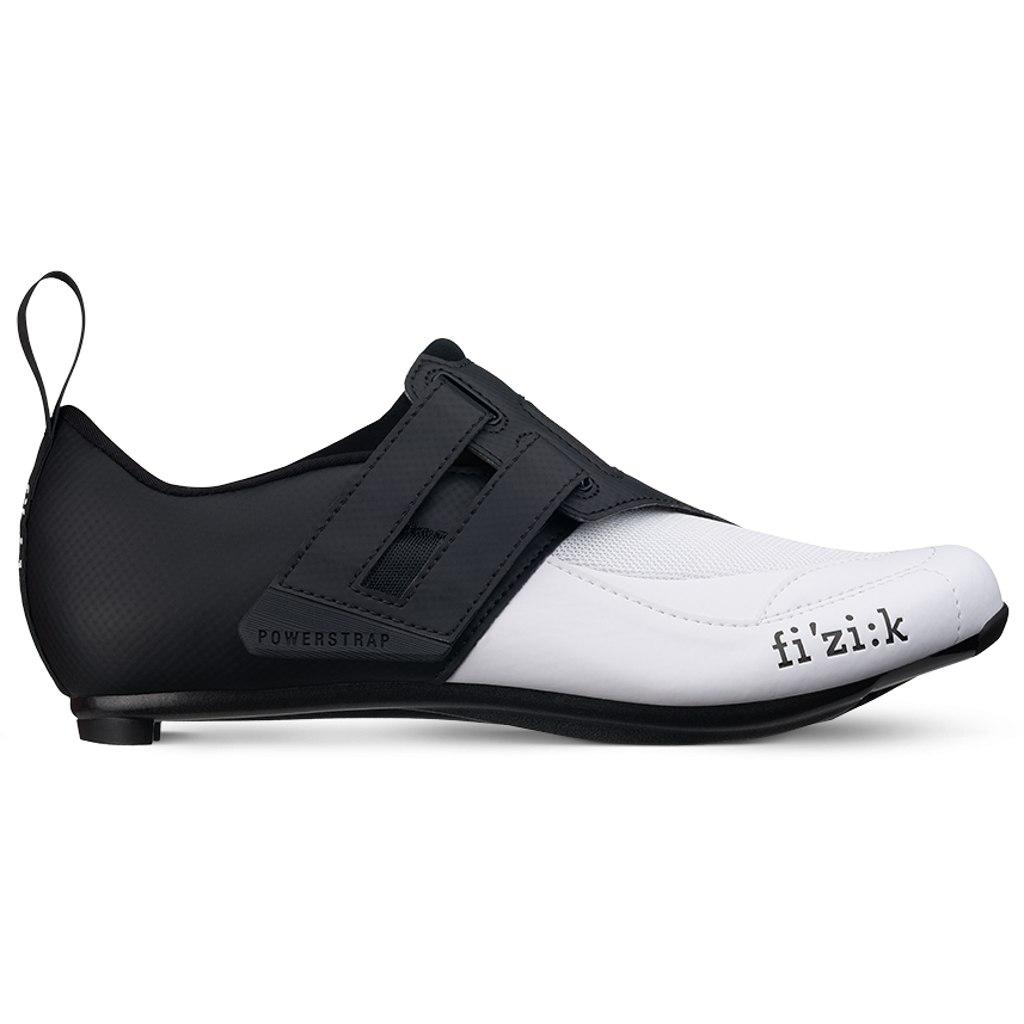 Fizik Transiro Powerstrap R4 Triathlon Shoe - black/white