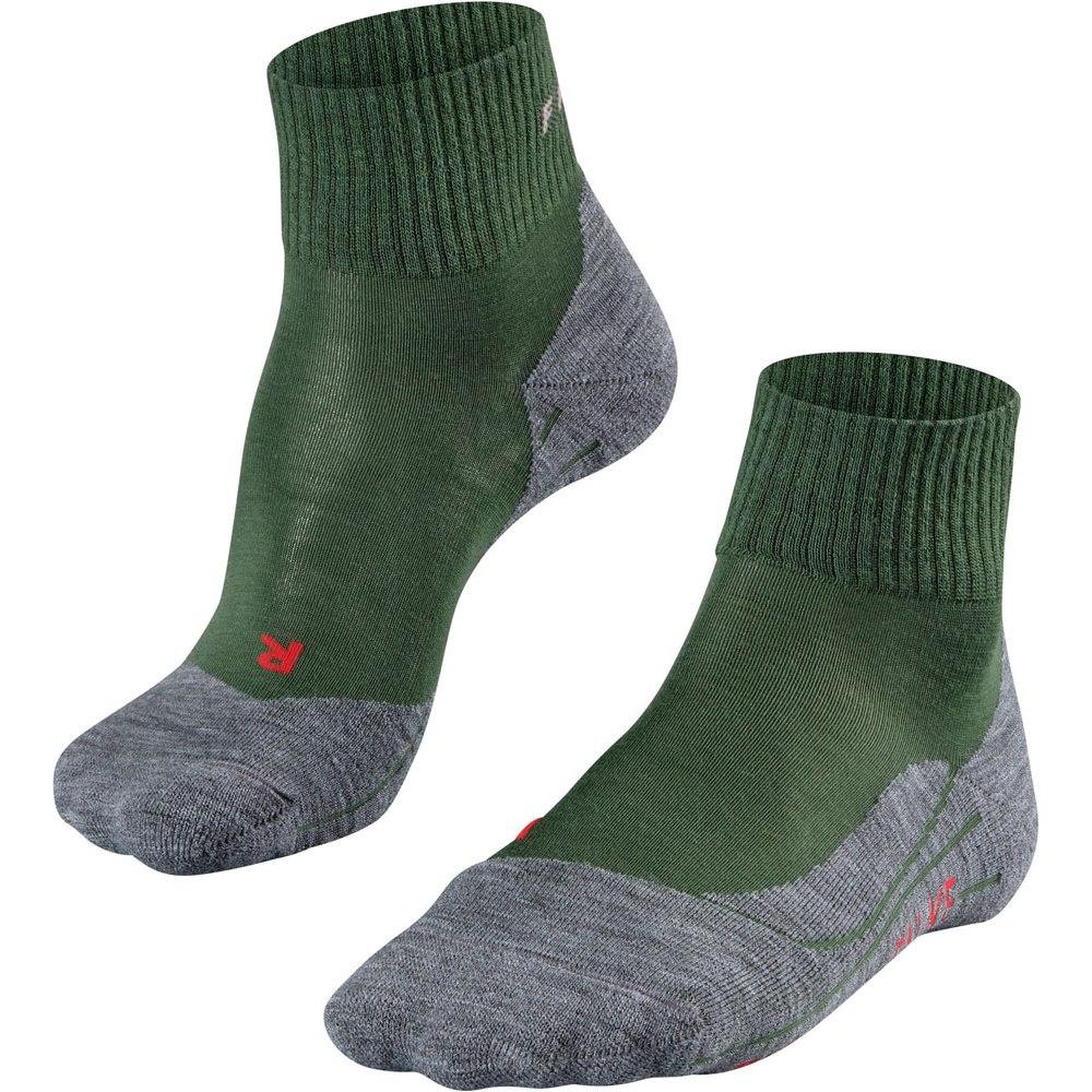 Falke TK5 Short Trekking Socks for Women - mountain green