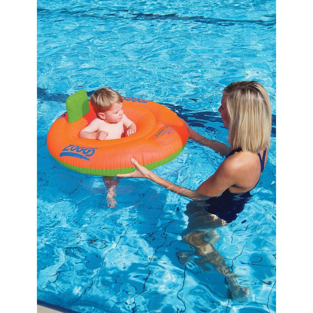 Bild von Zoggs Trainer Seat Kinder Schwimmsitz - Orange/Green