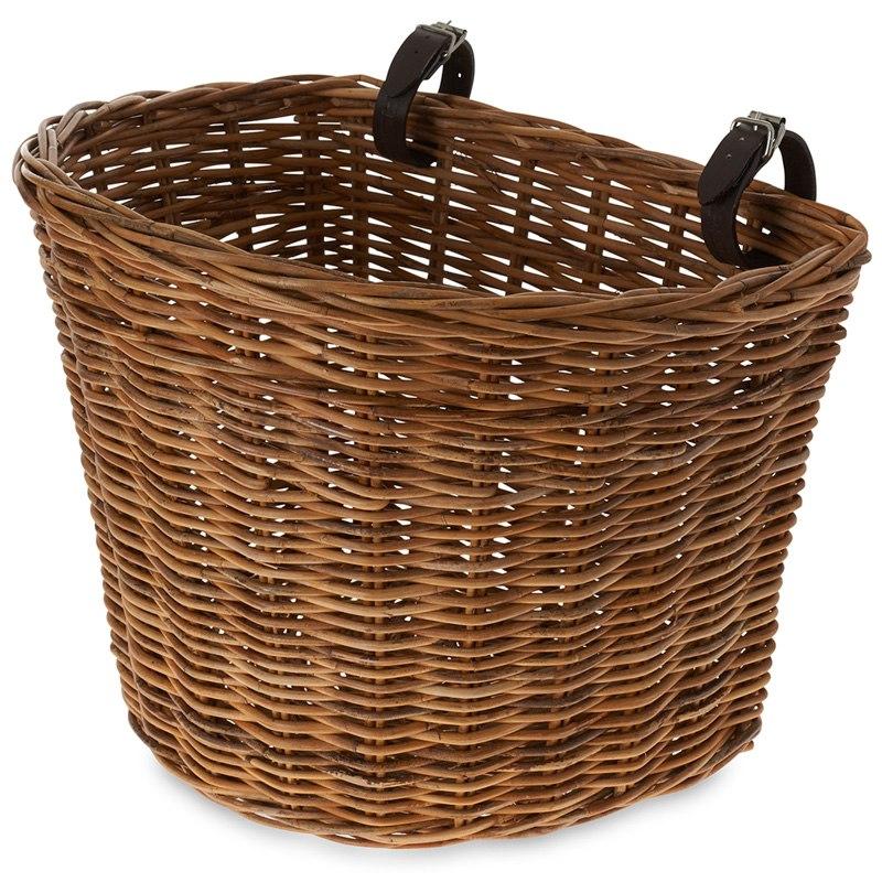 Basil Darcy L Bike Basket - natural