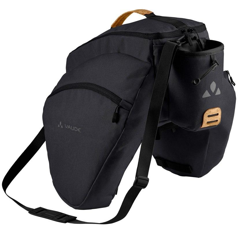 Vaude eSilkroad Plus Gepäckträgertasche - black