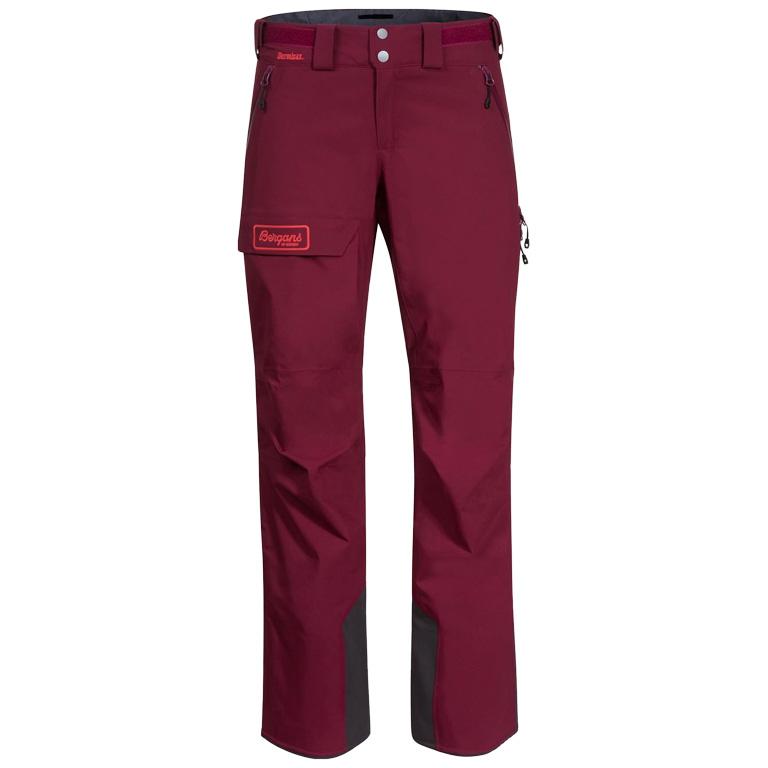 Image of Bergans Myrkdalen V2 Insulated Women's Pants - Beet Red / Light Dahlia Red