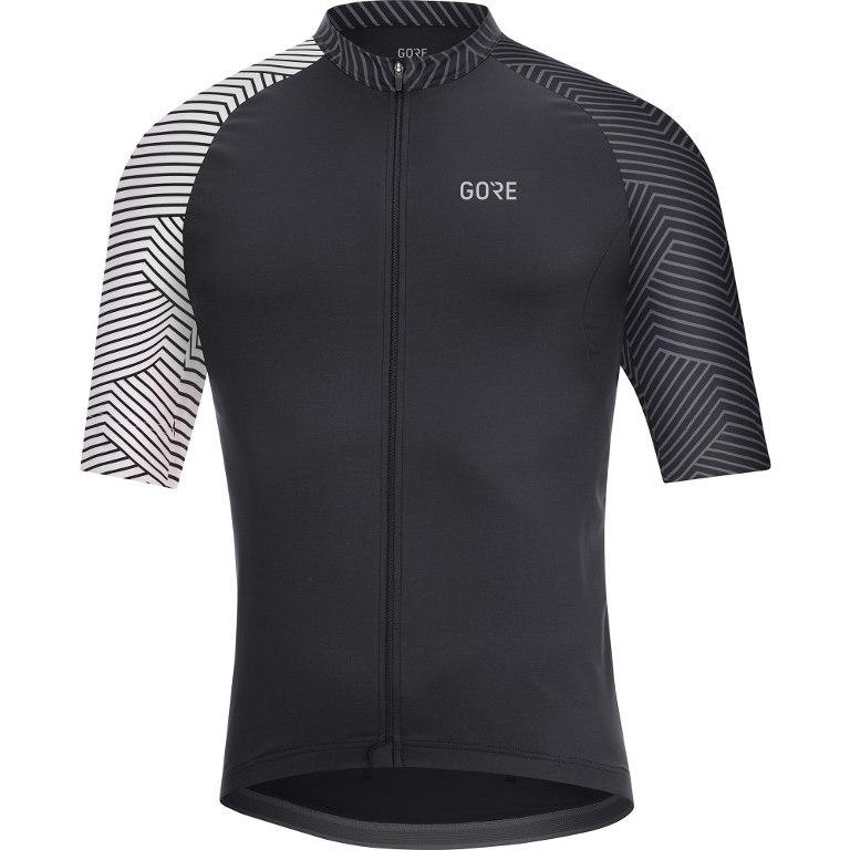 Produktbild von GORE Wear C5 Optiline Radtrikot - black/white 9901
