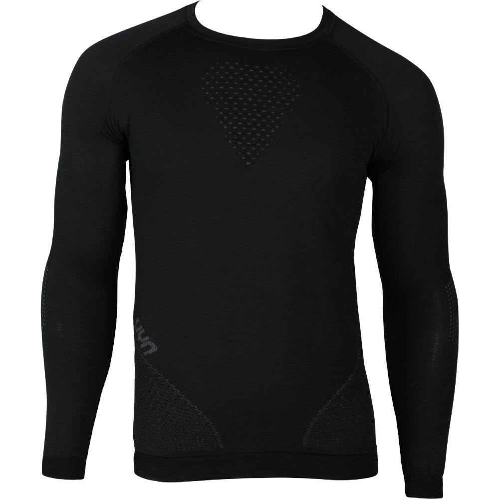 UYN Fusyon Underwear Langarmshirt - Black/Anthracite/Anthracite