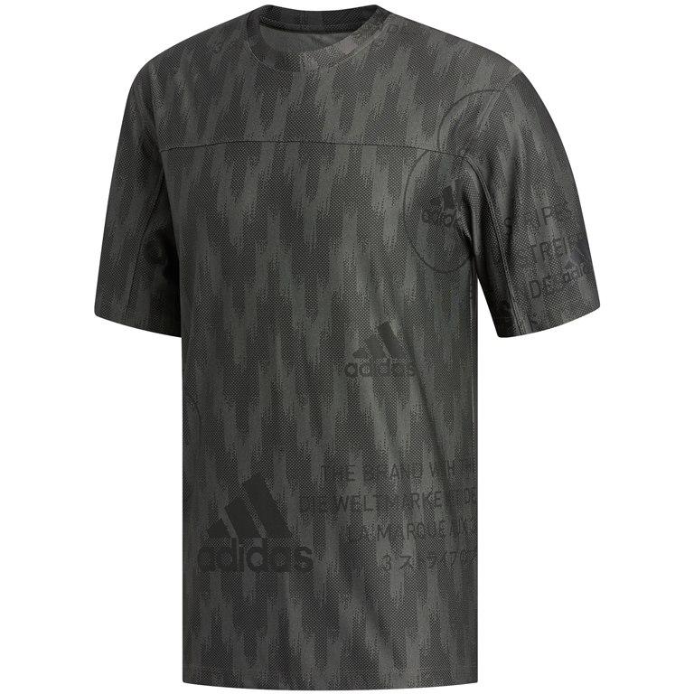 adidas Men's City Knit Tee - legacy green FL4286