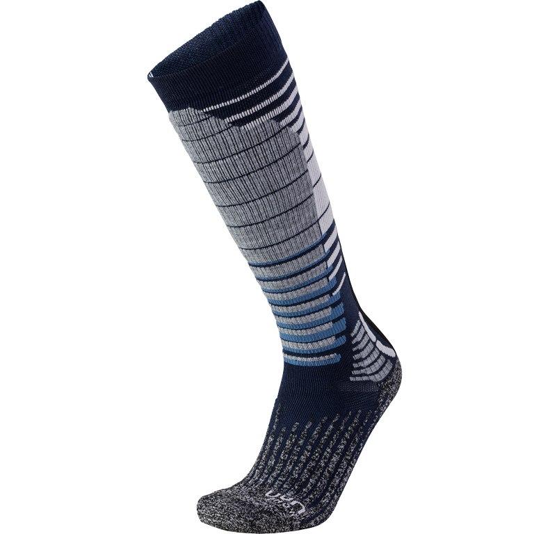 Bild von UYN Ski Snowboard Socken - dark blue/grey melange