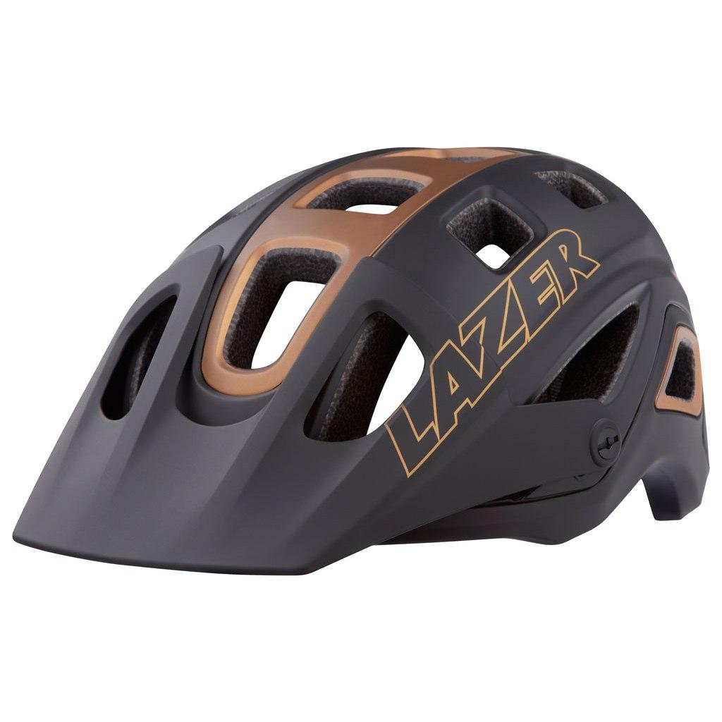 Lazer Impala Helmet - Gold Edition - matte black