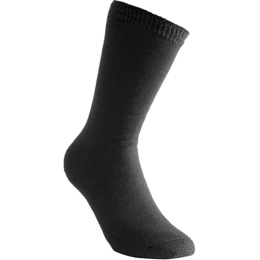 Woolpower Socken 400 - schwarz