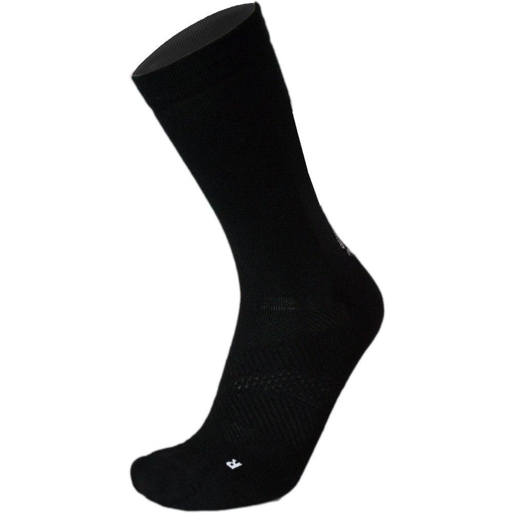 UYN Cycling Merino Socken - Schwarz/Weiß