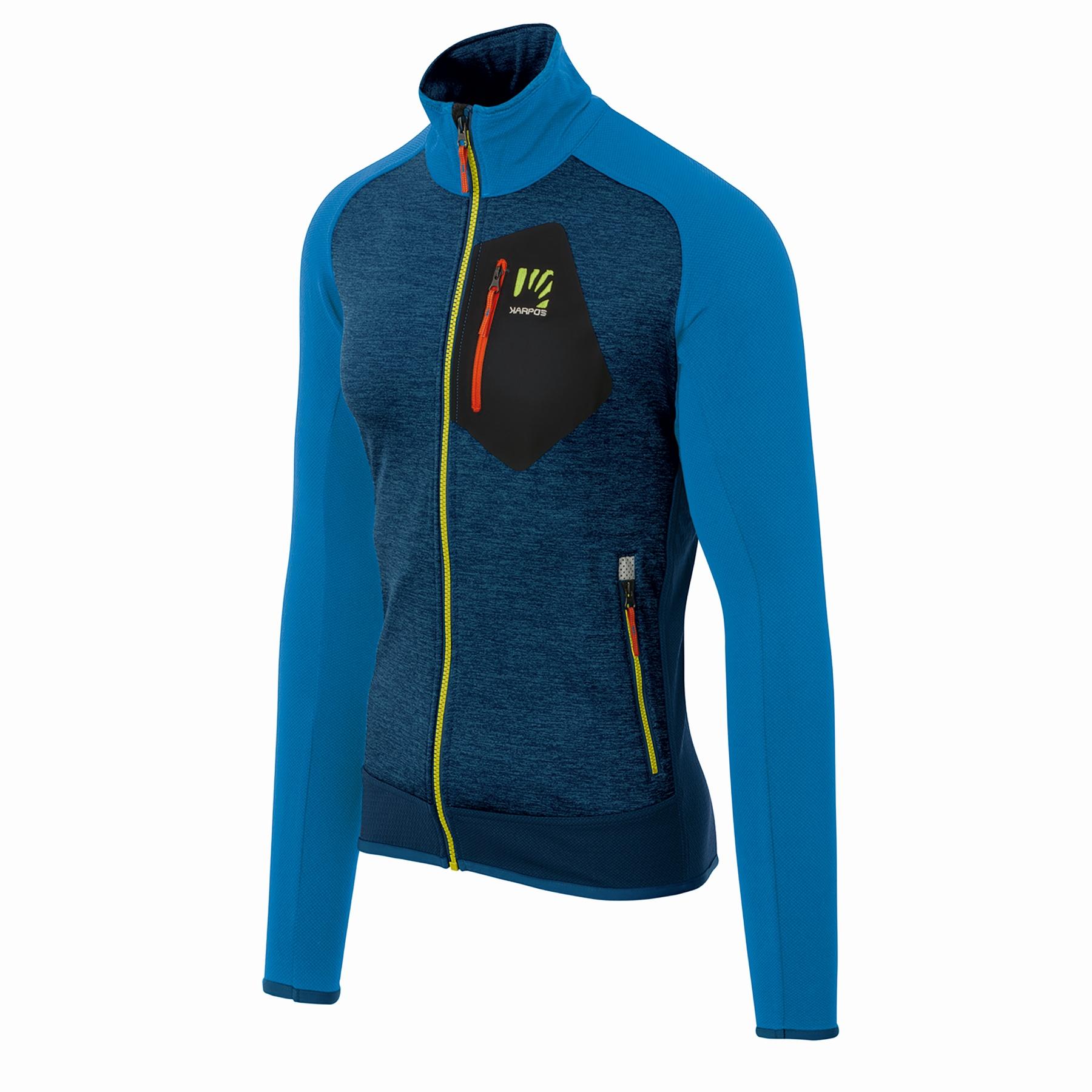 Karpos Odle Fleece Jacket - indigo bunting/insignia blue