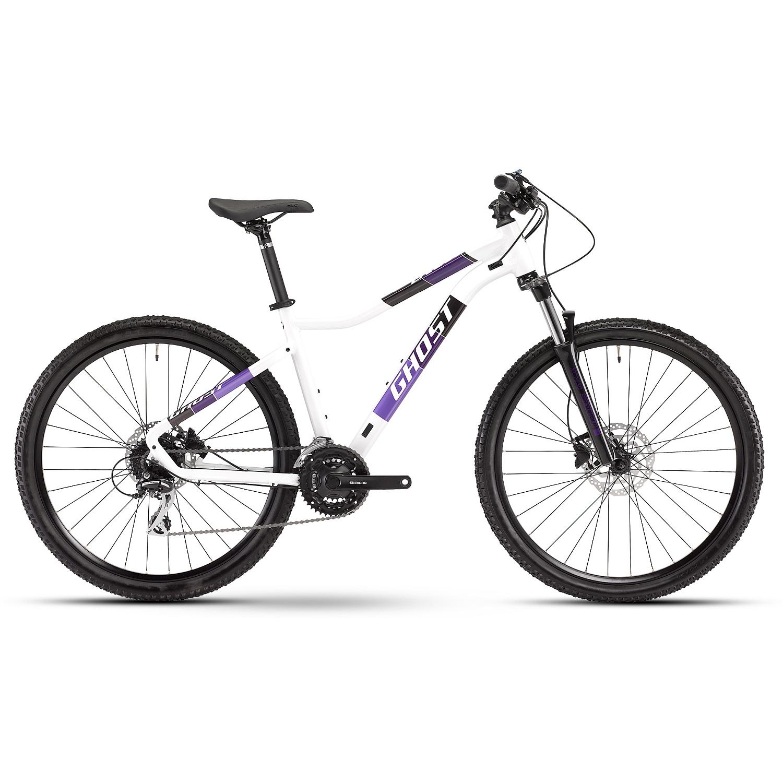 "Ghost LANAO Essential AL W - 27.5"" Bicicleta de montaña para Mujer - 2021 - white / purple"