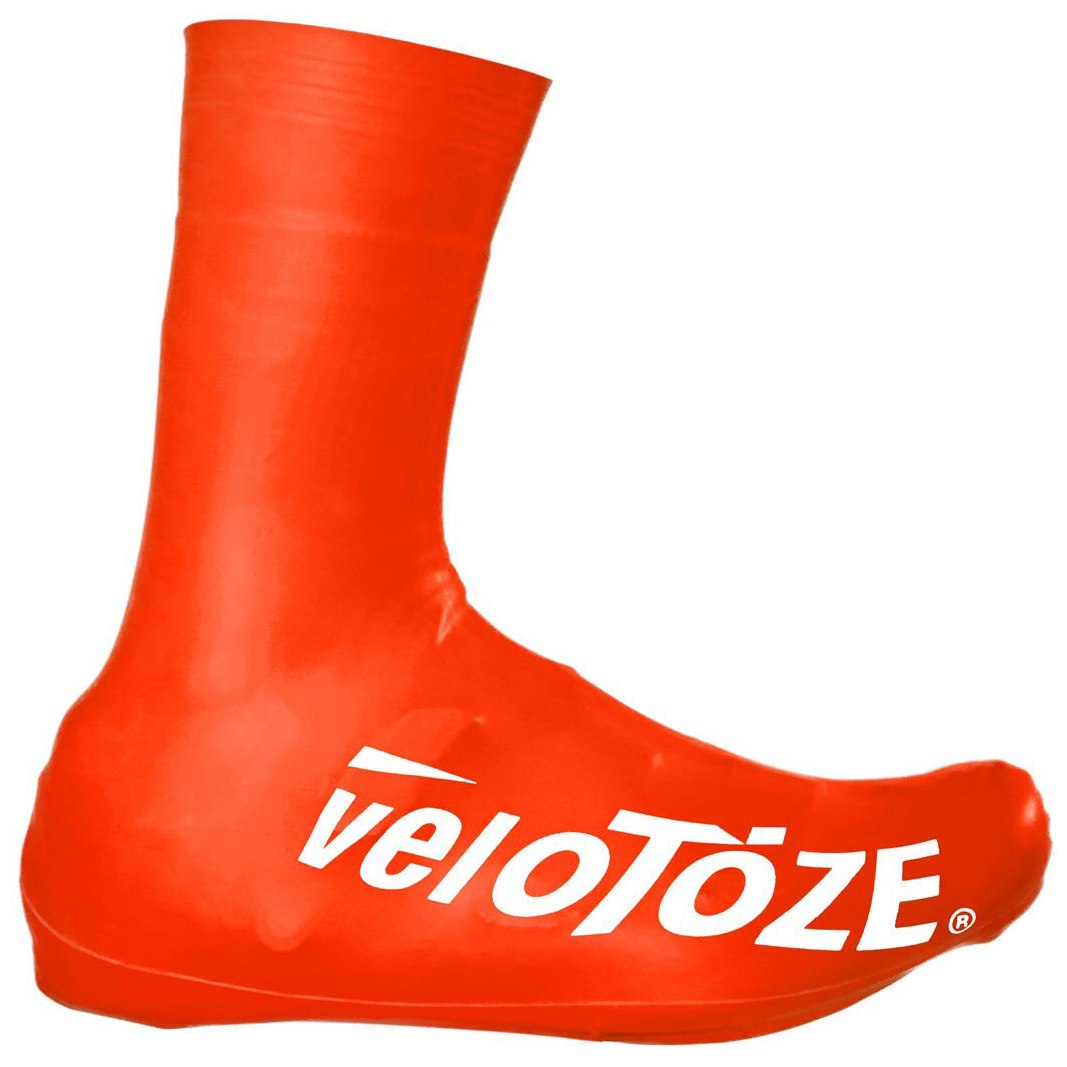 veloToze Tall Shoe Cover Road 2.0 - Überschuh Lang - red