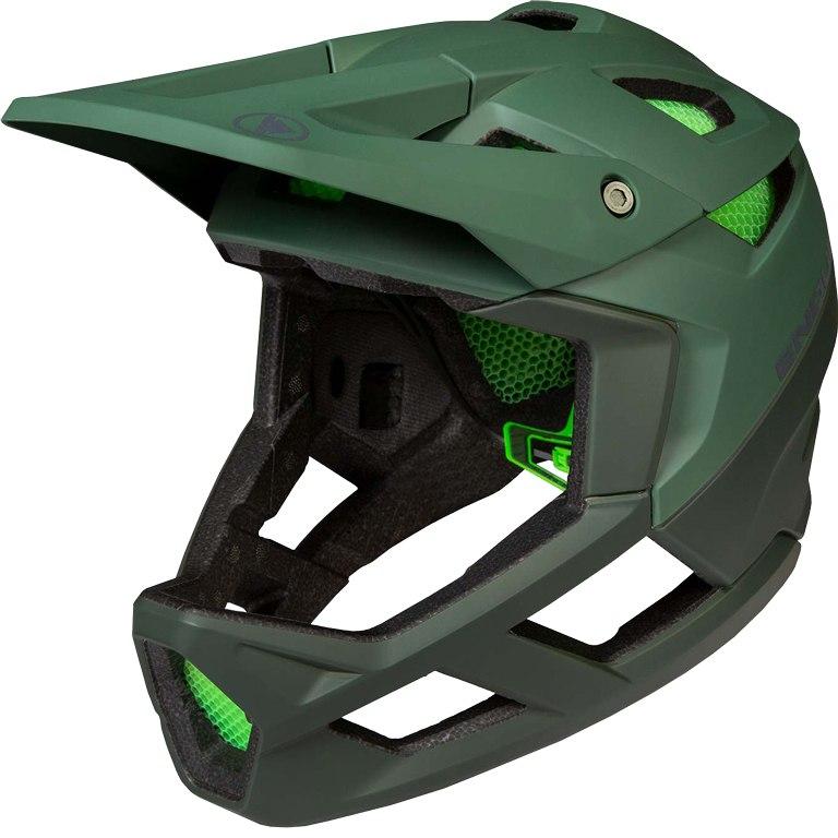 Endura MT500 Full Face Helmet - forest green