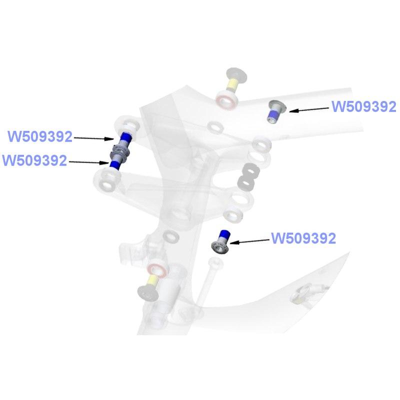 Trek M10x1x18mm obere Schraube für Dämpferlink - W509392