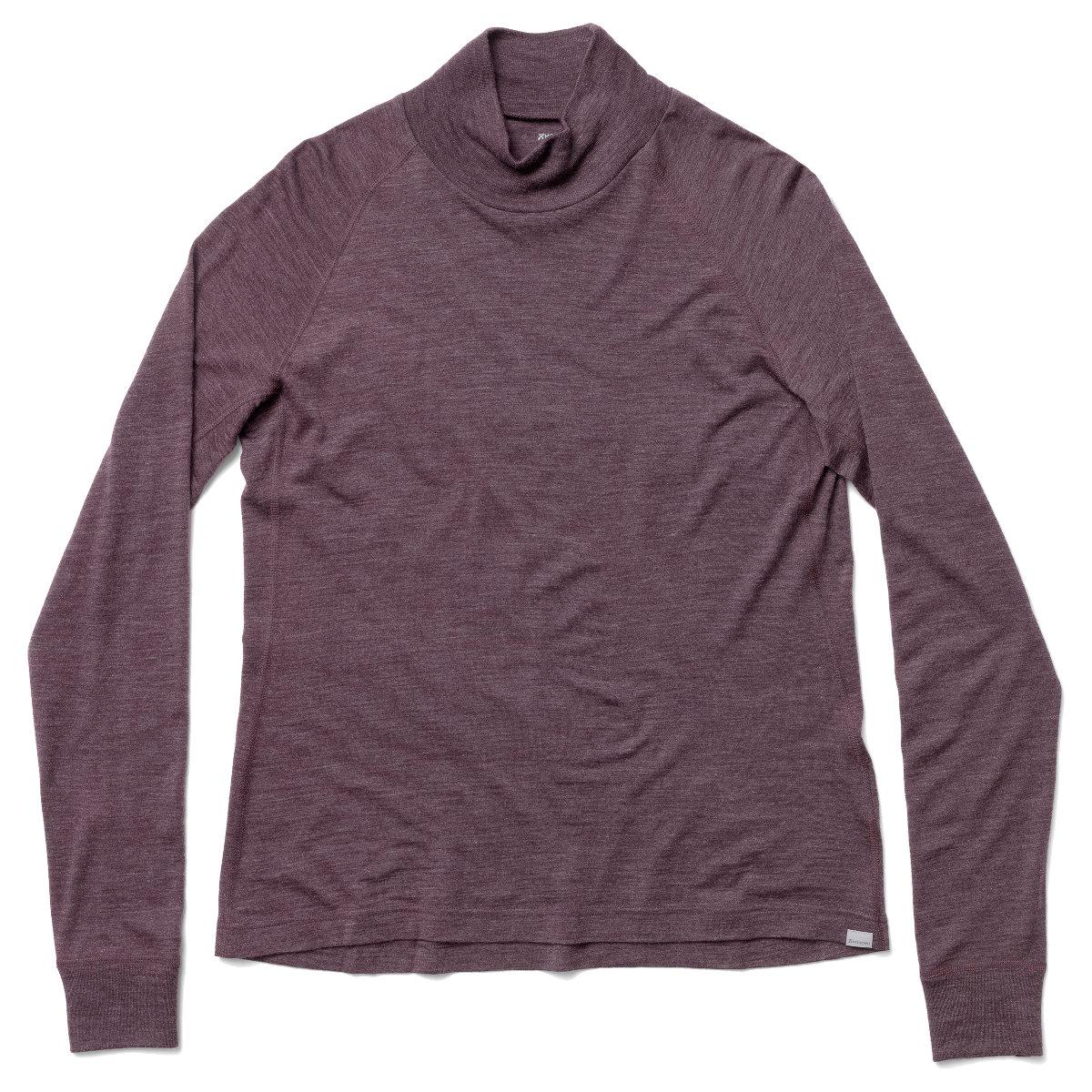 Houdini Women's Activist Turtleneck Long-Sleeve Shirt - Red Illusion