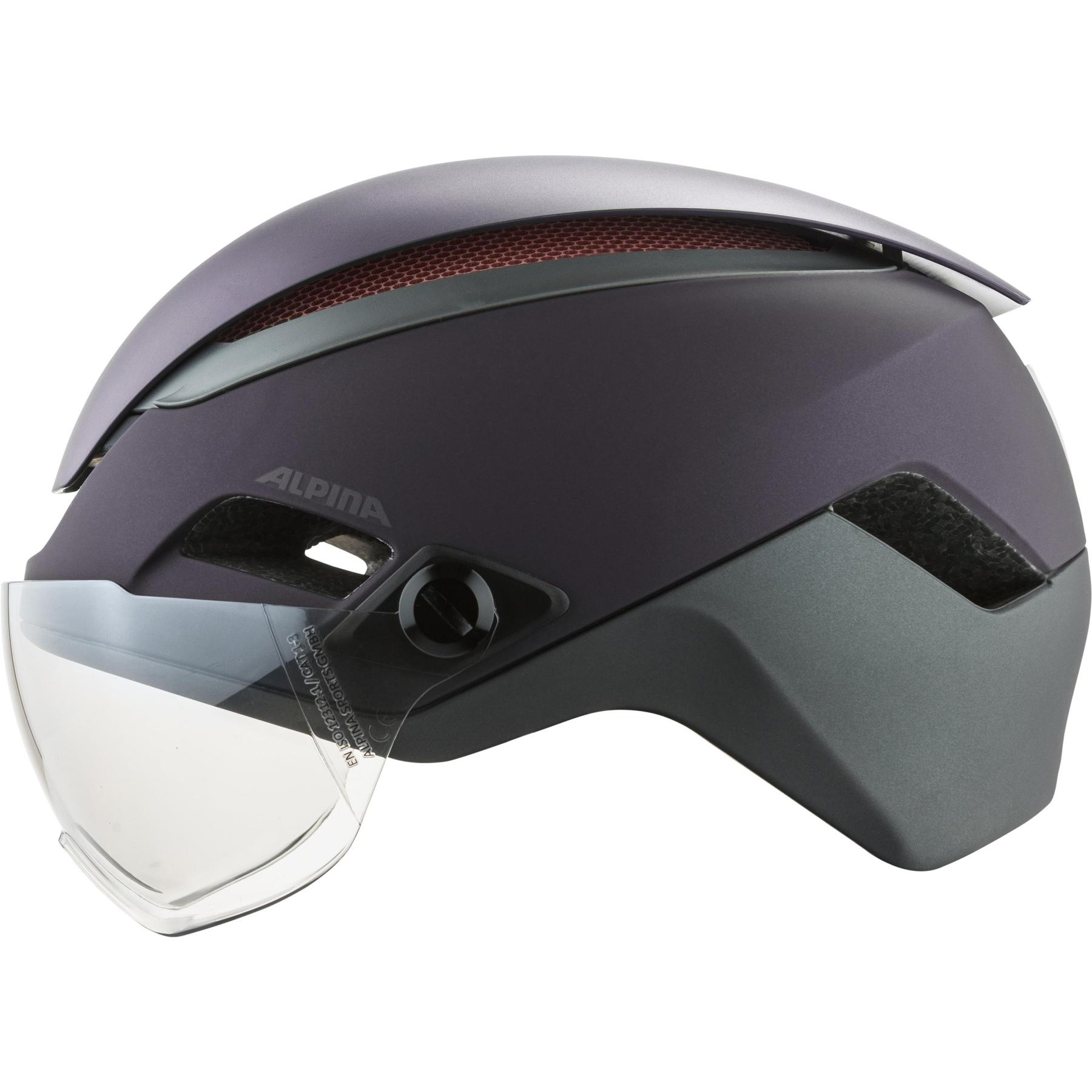 Image of Alpina Altona M Helmet - nightshade matt