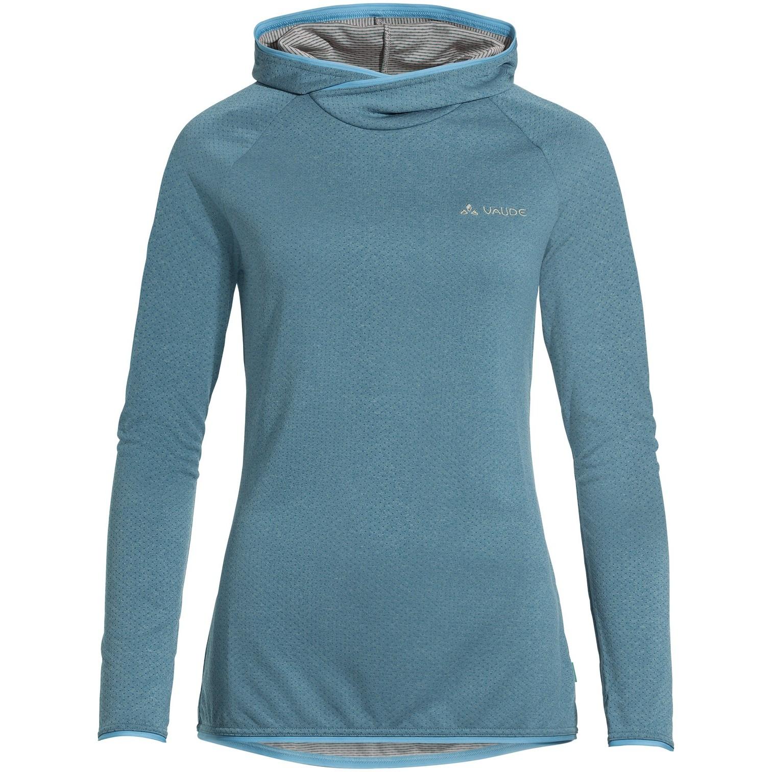 Vaude Miskanti LS T-Shirt II Damen - arctic blue