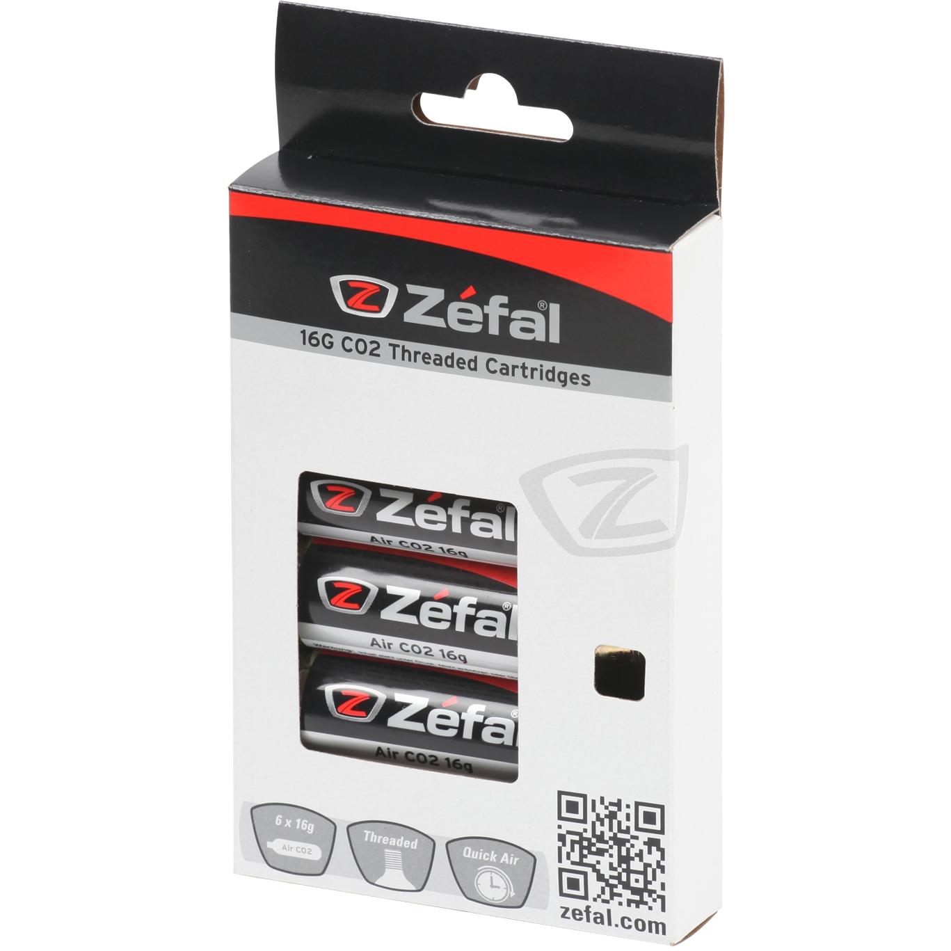 Bild von Zéfal EZ Twist 16g CO2 Kartuschen 6 Stück