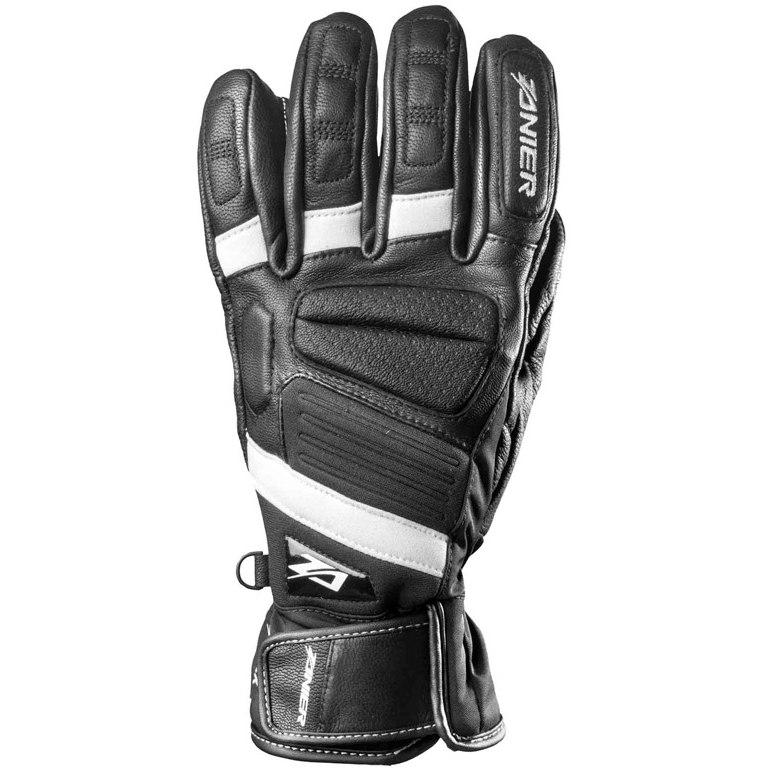 Zanier Fügen.ZX Full Finger Gloves - 2010 black-white