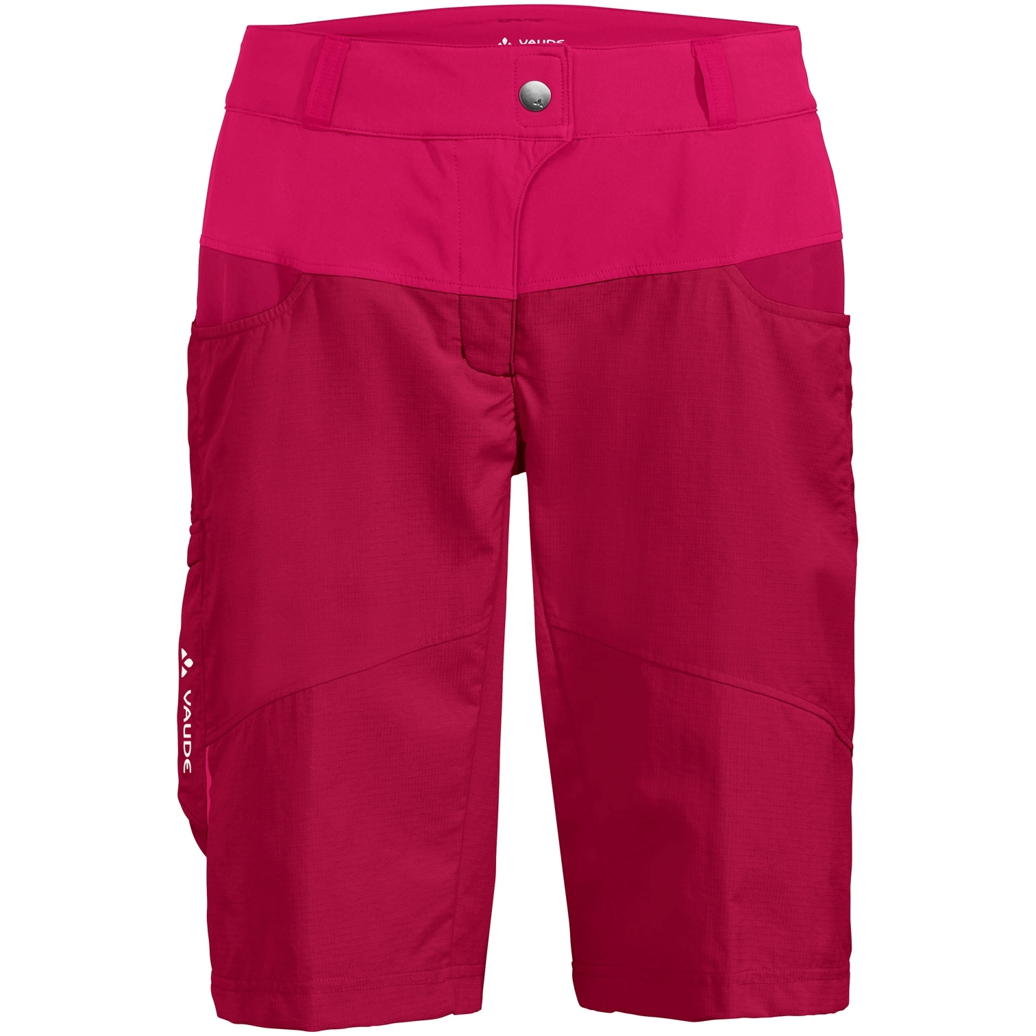 Vaude Qimsa Damen-Shorts - crimson red