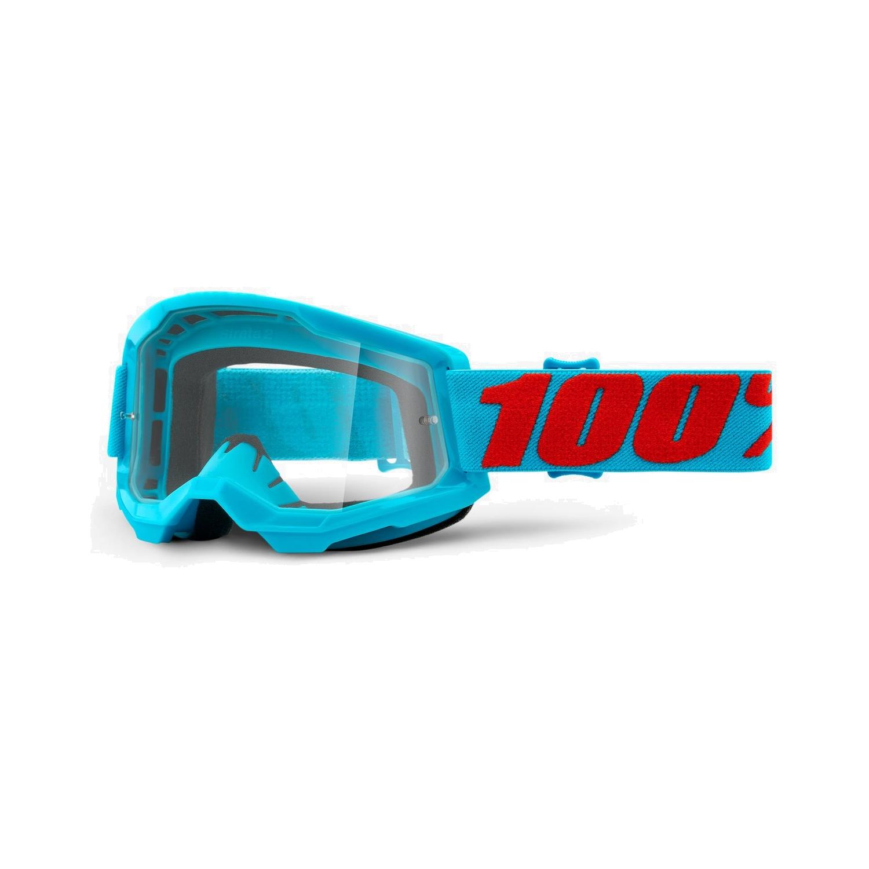 100% Strata 2 Goggle Clear Lens Gafas - Summit