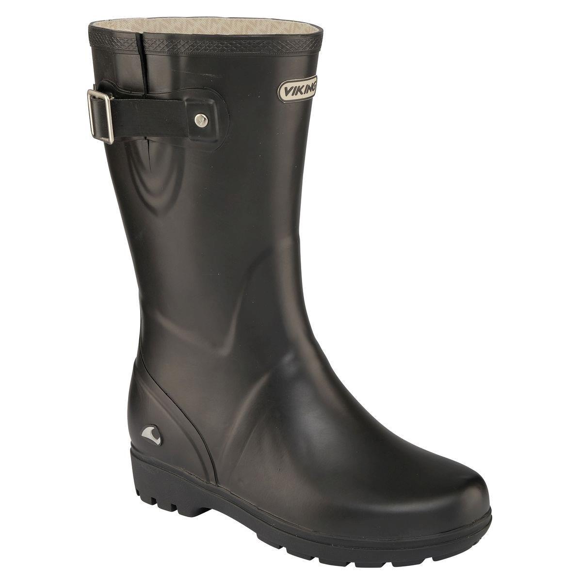 Image of Viking Mira Jr. Kids Rubber Boot - black 2