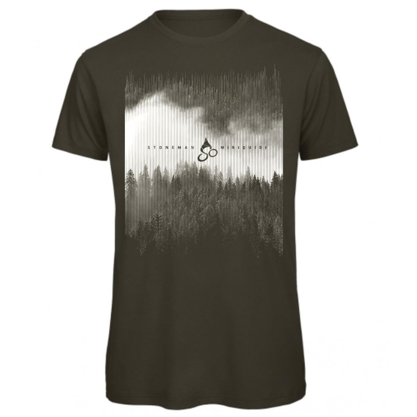 Stoneman Miriquidi »Dunkelwald« Männer T-Shirt - olive