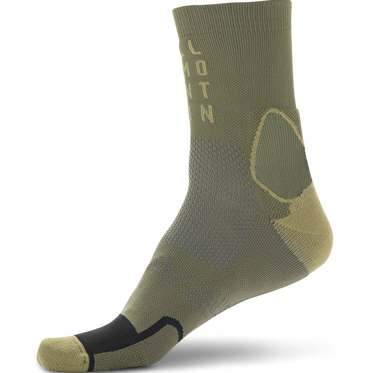 Image of CUBE Socks Mountain High Cut - olive