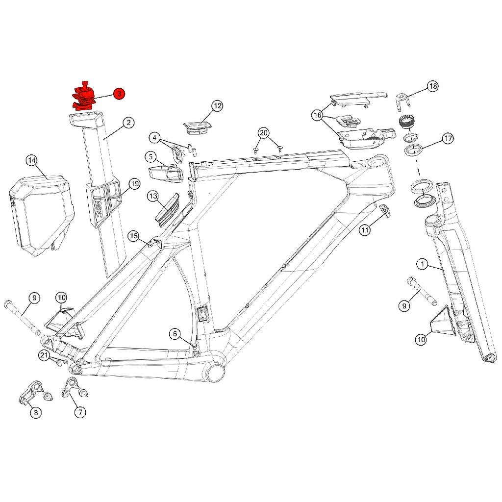 Image of BMC Saddle Clamp #1 - 212482