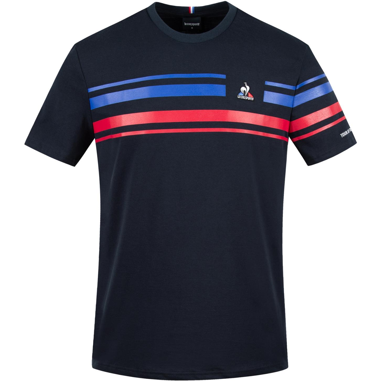 Le Coq Sportif Tour de France™ 2021 Collection Fanwear T-Shirt N°2 - Sky Captain