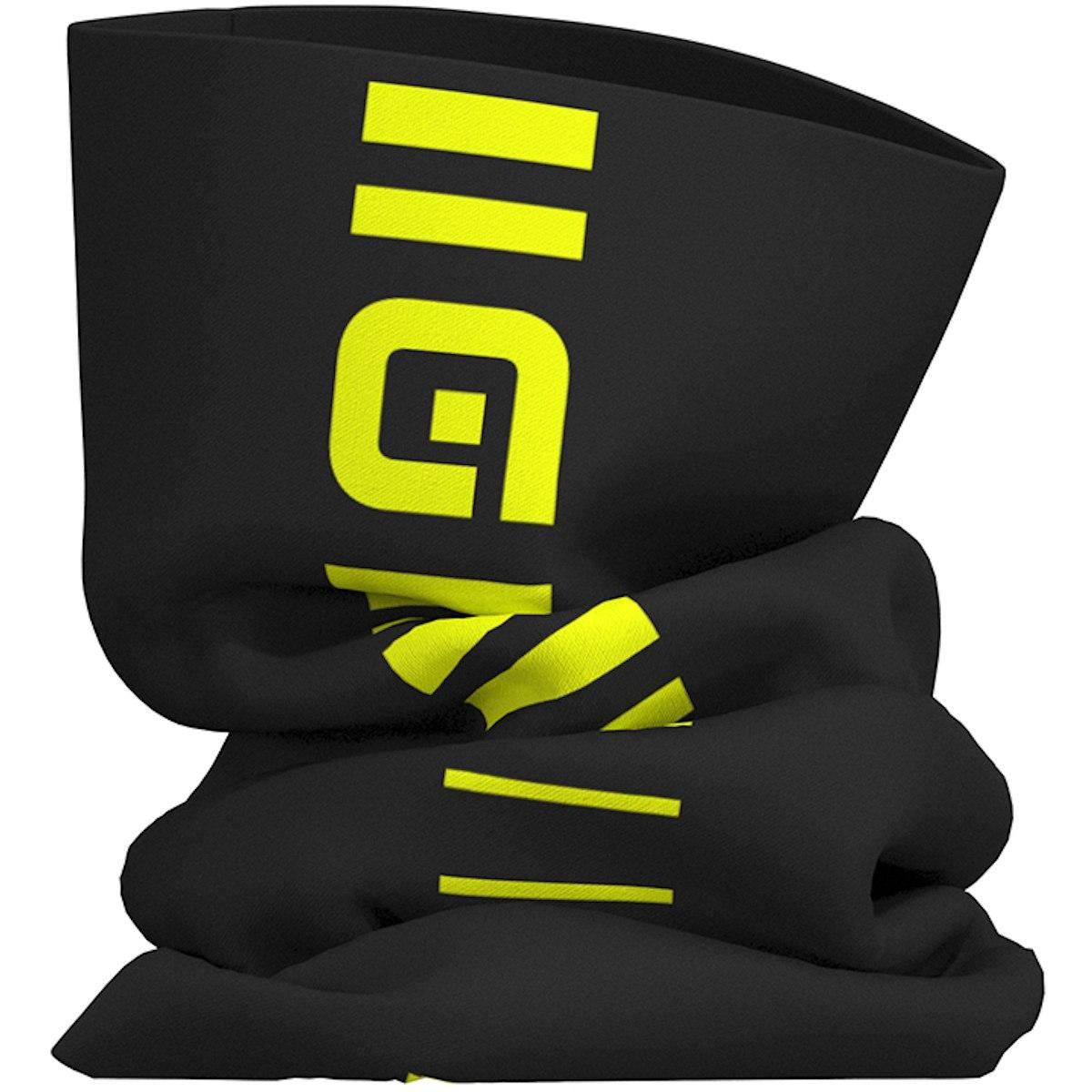 Alé Identity Tubular Head Gear - black/fluo yellow