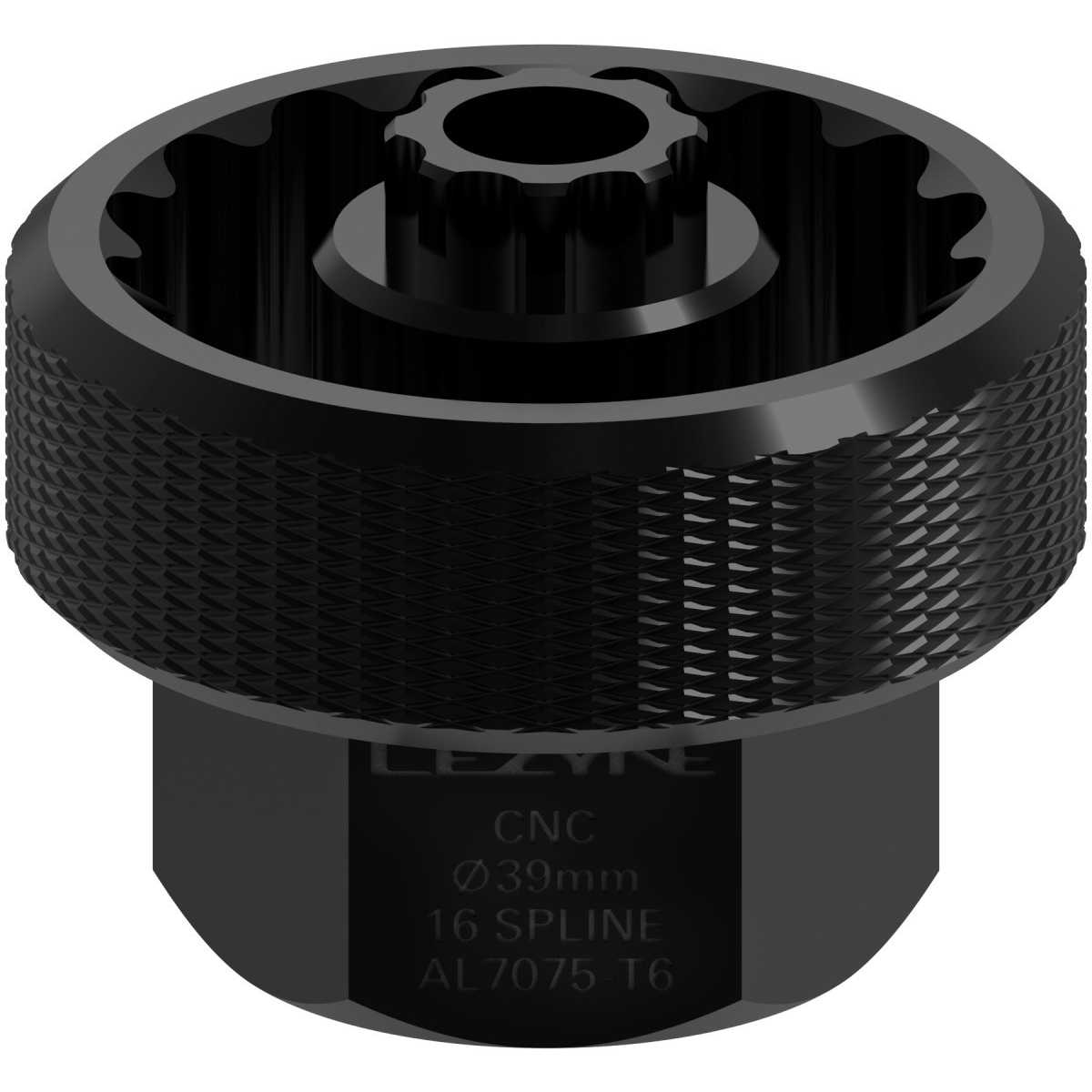 Lezyne CNC Alloy Bottom Bracket Tool 3916 39mm - Innenlagerwerkzeug - Shimano DuraAce 9000, XTR BB93, BB92