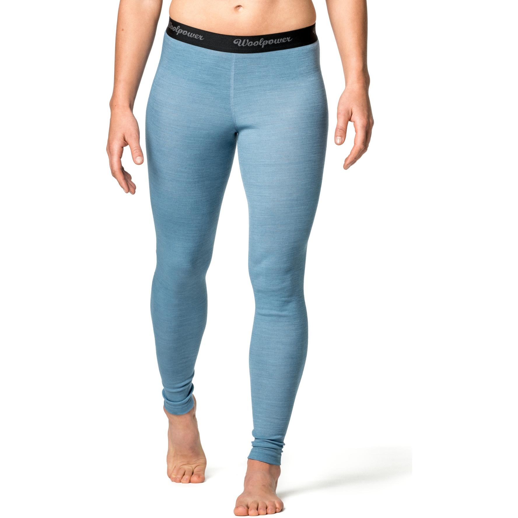Image of Woolpower Long Johns Women LITE Underpants - nordic blue