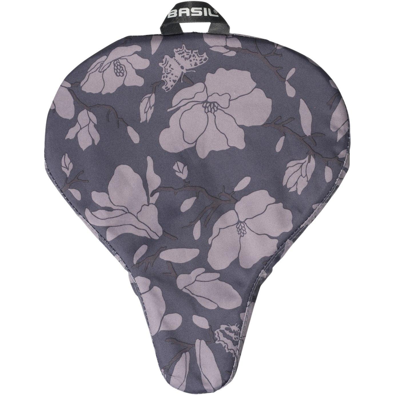 Basil Magnolia Saddle Cover - blackberry