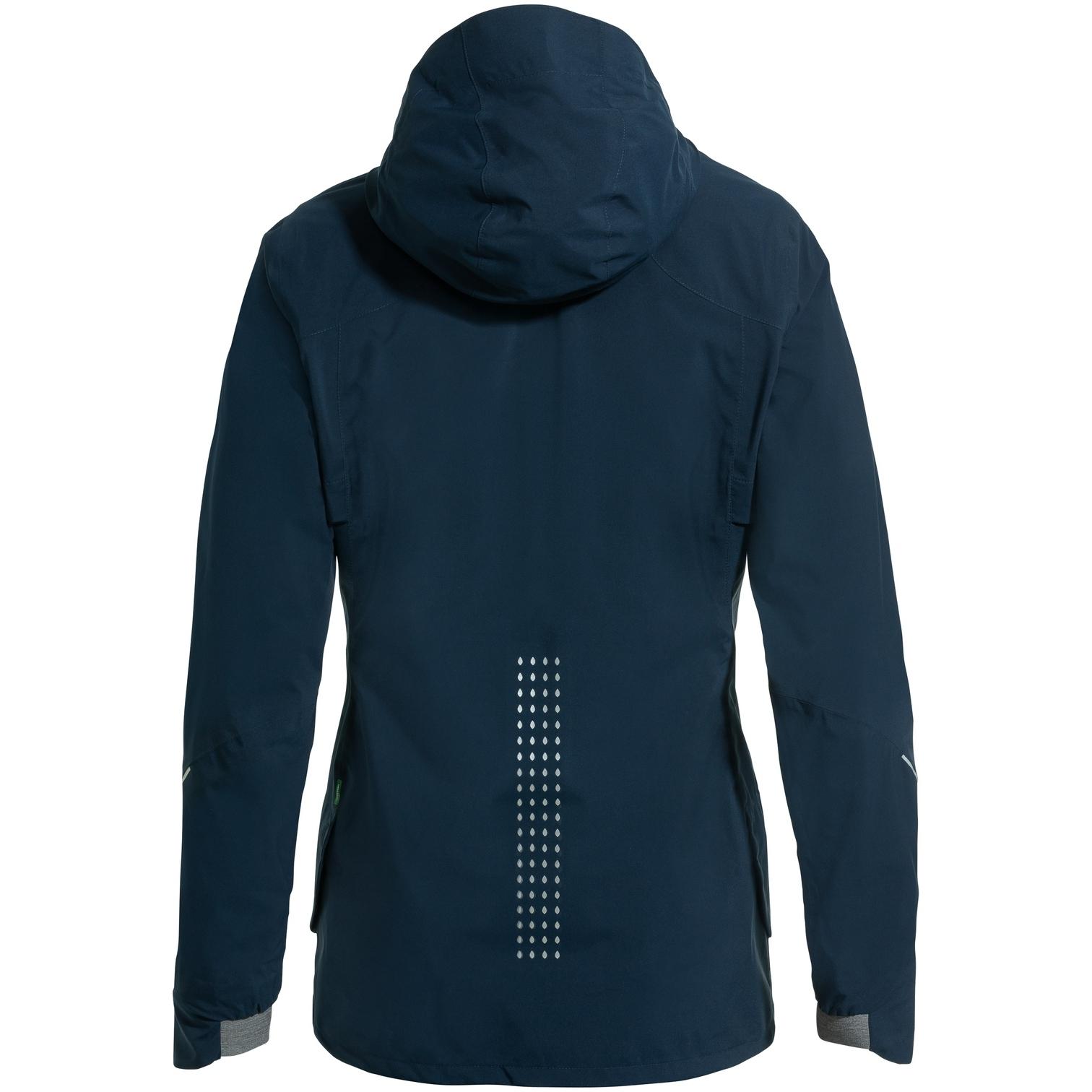 Image of Vaude Women's Yaras 3in1 Jacket - dark sea