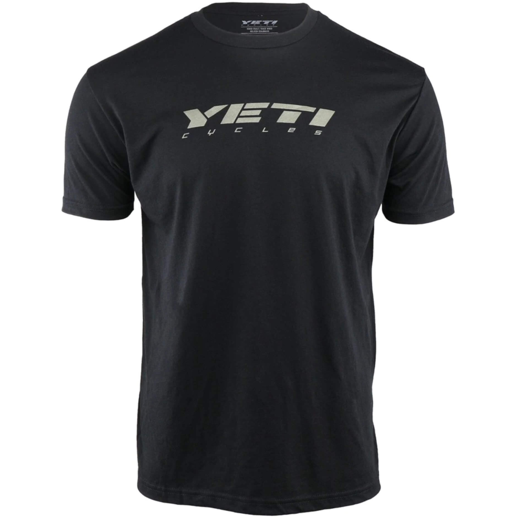 Yeti Cycles Slant T-Shirt - Black