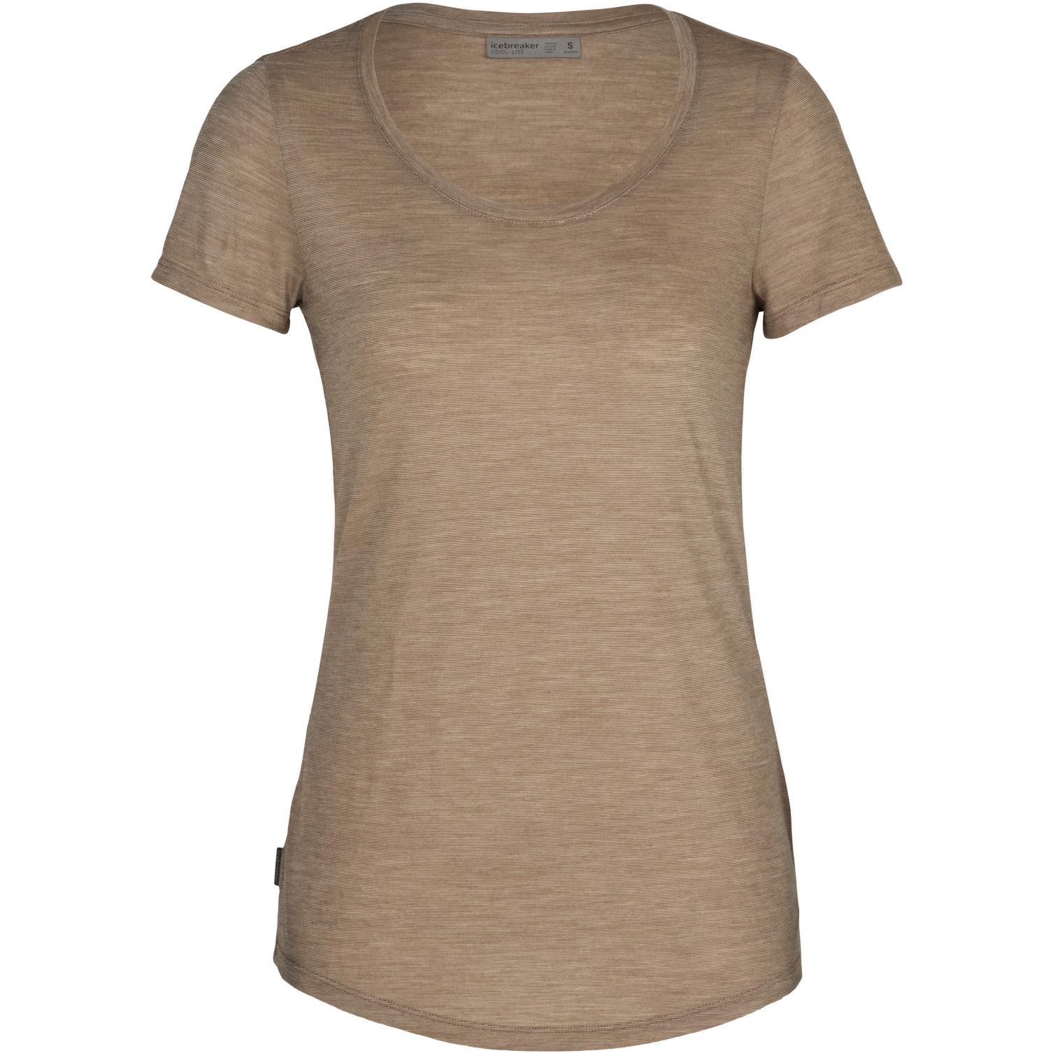 Produktbild von Icebreaker Sphere Scoop Damen T-Shirt - Flint