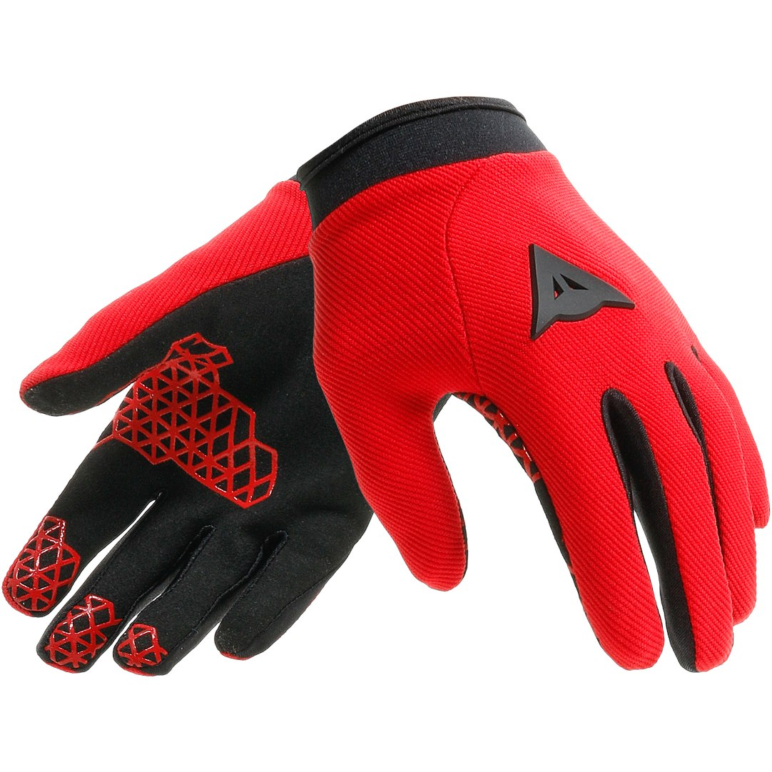 Foto de Dainese Scarabeo Youth Gloves - light-red/black