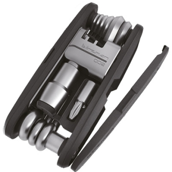 Birzman Diversity 17 Multitool with CO2 Adapter - black-silver