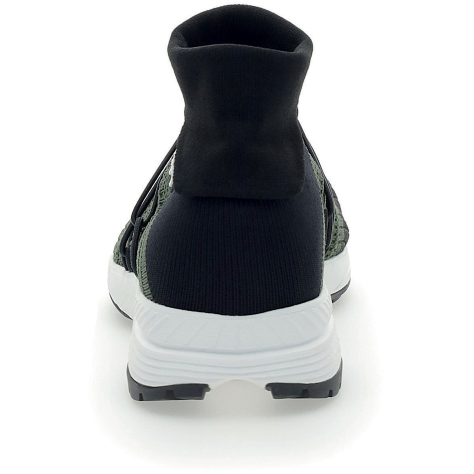 Image of UYN Free Flow Tune High Running Shoes - Military/Black