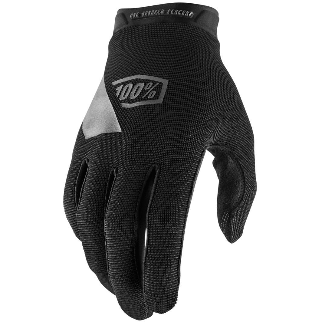100% Ridecamp Youth Guantes - negro
