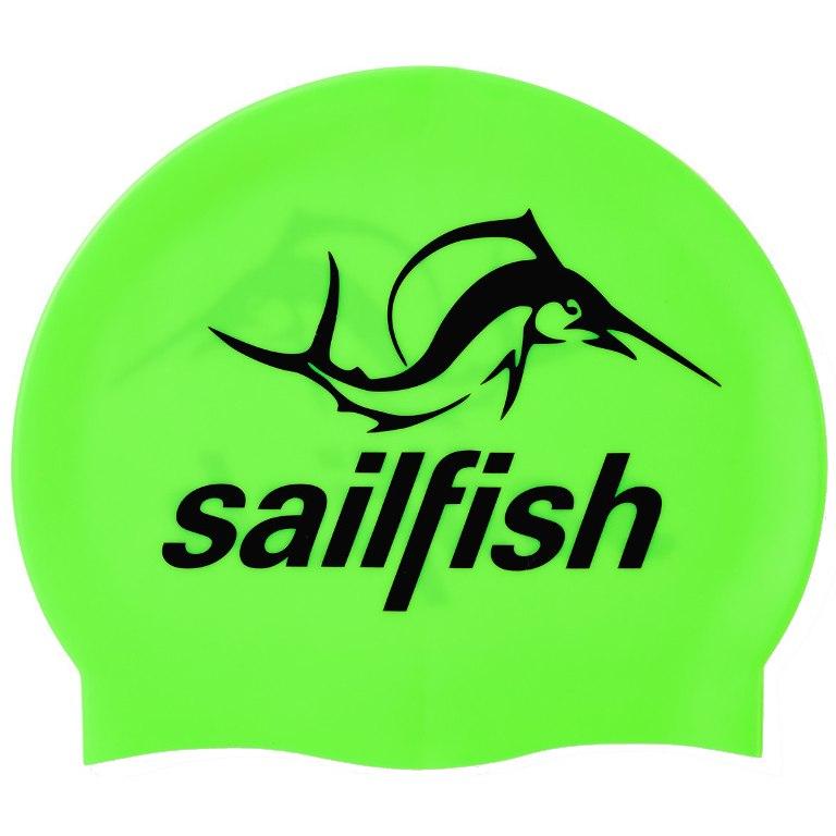 Produktbild von sailfish Silikon Schwimmkappe 2021 - neongrün
